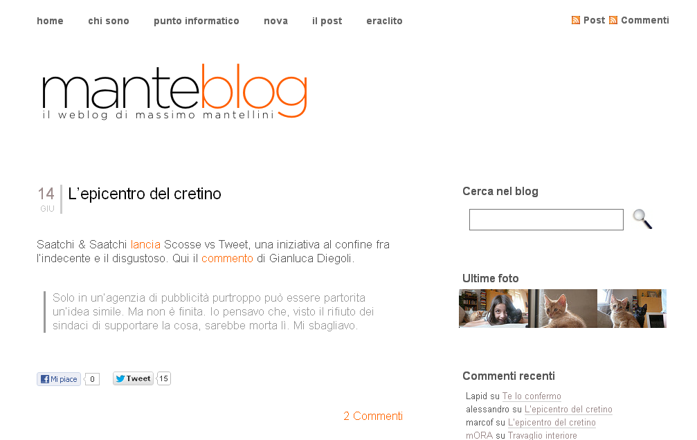 Manteblog-Screenshot