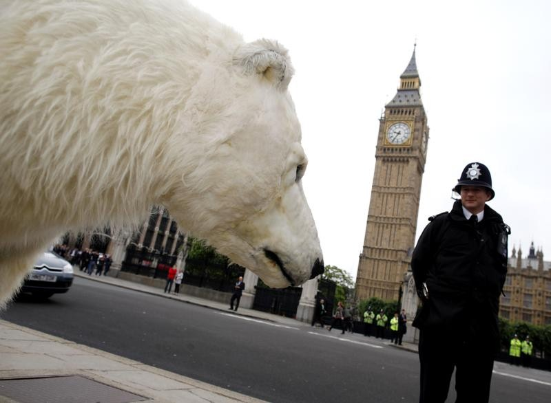 Polar Bear in London