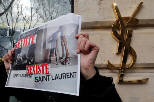 Yves Saint Laurent umilia le donne con la sua campagna
