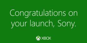 Twitter   Xbox  Congrats  Playstation.